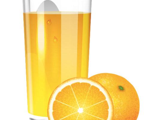 Arancia succo surgelato.